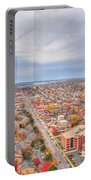 031 Series Of Buffalo Ny Via Birds Eye West Side Portable Battery Charger