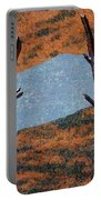 0361 Abstract Landscape Portable Battery Charger