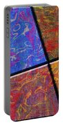0580 Abstract Thought Portable Battery Charger