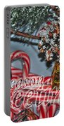 06 Christmas Cards Portable Battery Charger