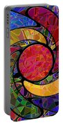 0677 Abstract Thought Portable Battery Charger
