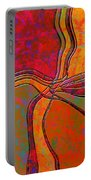 0683 Abstract Thought Portable Battery Charger