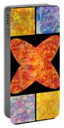 0690 Abstract Thought Portable Battery Charger