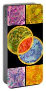 0691 Abstract Thought Portable Battery Charger