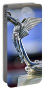 1928 Isotta Fraschini Tipo 8as Landaulet Hood Ornament Portable Battery Charger
