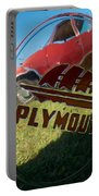 1947 Plymouth Coupe Hubcap Portable Battery Charger