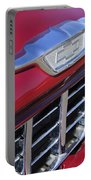 1955 Chevrolet Pickup Truck Grille Emblem Portable Battery Charger