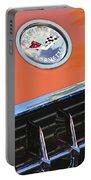 1958 Chevrolet Corvette Hood Emblem Portable Battery Charger