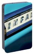 1959 Chevrolet Impala Emblem Portable Battery Charger