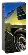 1971 Plymouth Gtx Portable Battery Charger by Gordon Dean II
