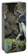A British Army Sniper Team Dressed Portable Battery Charger