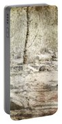 A Couple In The Woods Portable Battery Charger by Joana Kruse