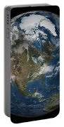 A View Of The Earth With The Full Portable Battery Charger