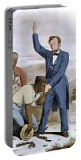 Abraham Lincoln, 16th American President Portable Battery Charger by Photo Researchers, Inc.