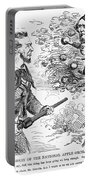Abraham Lincoln Cartoon Portable Battery Charger