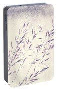 Abstract Gras Portable Battery Charger