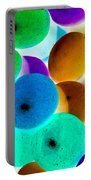 Abstract Negative Art Portable Battery Charger