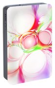 Abstract Of Circle  Portable Battery Charger