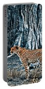 Alert Cheetah Portable Battery Charger by Darcy Michaelchuk