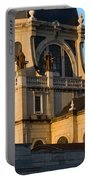 Almudena Cathedral In Madrid Portable Battery Charger