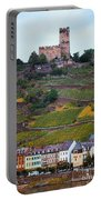 Along The Rhine River Portable Battery Charger
