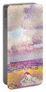 An Incoming Storm Portable Battery Charger by Henri-Edmond Cross