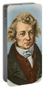 Andre Marie Amp�re, French Physicist Portable Battery Charger