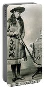 Annie Oakley (1860-1926) Portable Battery Charger