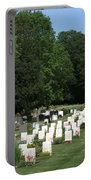 Anzac Cemetery In Harefield Churchyard Portable Battery Charger