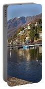 Ascona - Lake Maggiore Portable Battery Charger by Joana Kruse