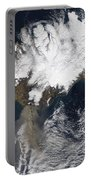Ash Plume From Eyjafjallajokull Portable Battery Charger