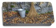 Autumn In The Garden Portable Battery Charger