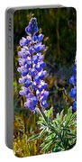 Back Lit Lupine Portable Battery Charger