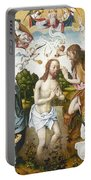 Baptism Of Christ Portable Battery Charger