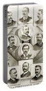 Baseball, 1894 Portable Battery Charger