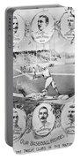 Baseball, 1895 Portable Battery Charger