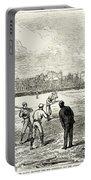 Baseball: England, 1874 Portable Battery Charger