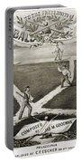 Baseball Polka, 1867 Portable Battery Charger