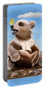 Ben Bear And Butterfly Portable Battery Charger