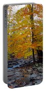 Big Hunting Creek Down Stream From Cunningham Falls Portable Battery Charger