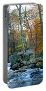 Big Hunting Creek Upstream From Cunningham Falls Portable Battery Charger
