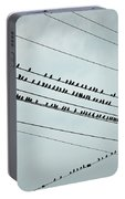 Birds On A Wire Portable Battery Charger