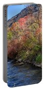 Blacksmith Fork River In The Fall - Utah Portable Battery Charger