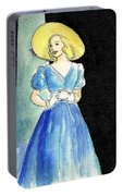 Blue Gown Portable Battery Charger