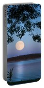Blue Moon Of August  Portable Battery Charger