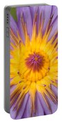 Cape Blue Waterlily Nymphaea Capensis Portable Battery Charger