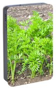 Carrot Crop Portable Battery Charger
