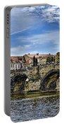Charles Bridge - Prague Portable Battery Charger