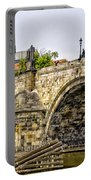 Charles Bridge And Prague Castle Portable Battery Charger
