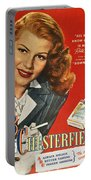 Chesterfield Cigarette Ad Portable Battery Charger